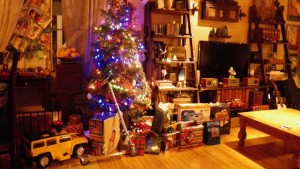 Santa has been here! Merry Christmas to all, and to all a good night!