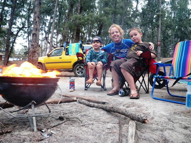Ben's birthday campout - really just an excuse to go out and indulge in enjoying my boys nonstop for a couple days. :)