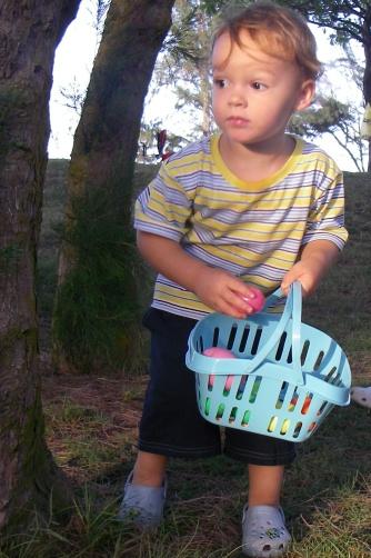 Easter egg hunt bbq!