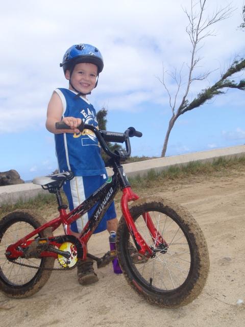 Sam goes muddin' on his mtn bike! Click on video below.