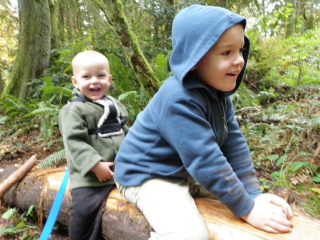Riding a horse in Grand Forest!