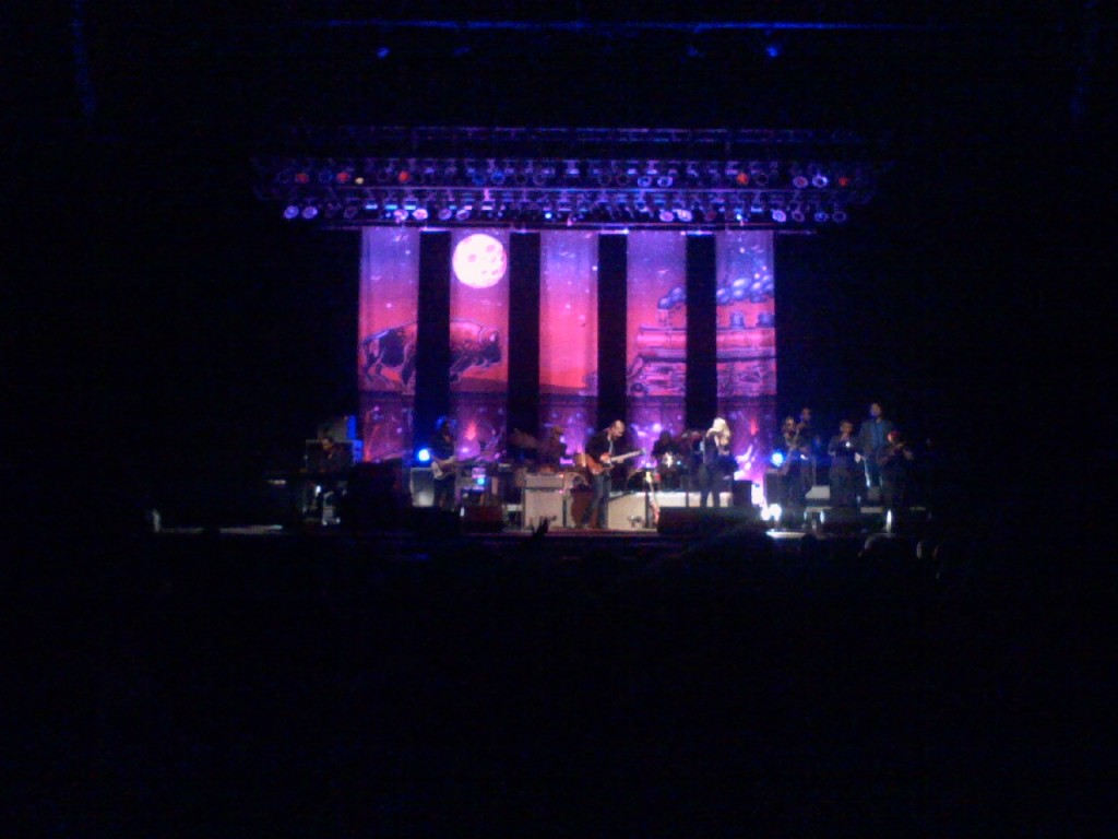Tedeschi Trucks Band with Dave! It was awesome!