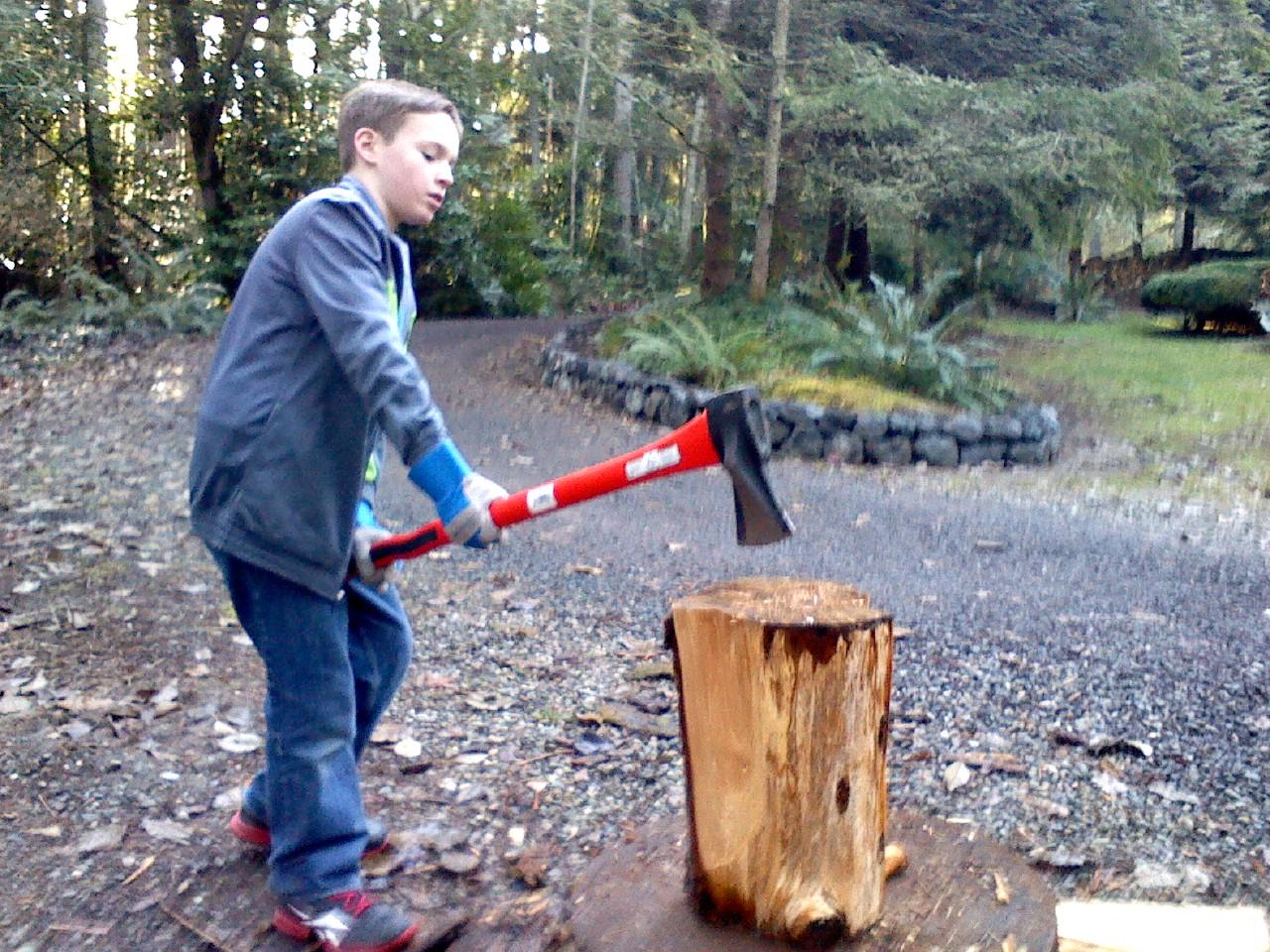 Sam got the axe!