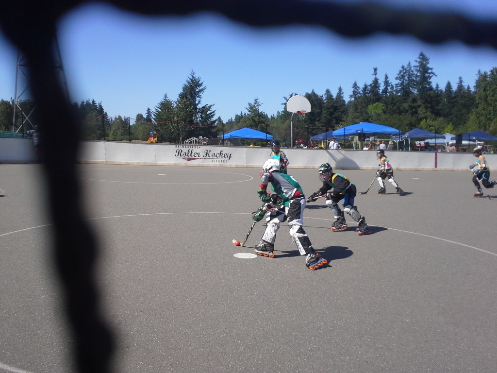 Roller Hockey rocks!