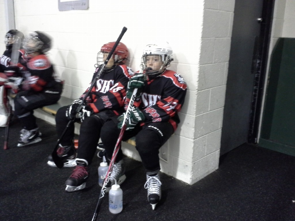 Getting ready to head out onto the ice!