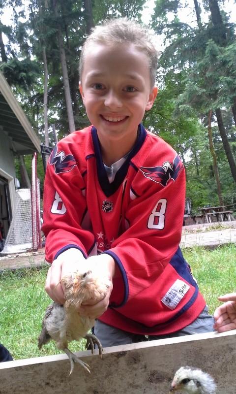 """Enjoying catching a buddy named """"Julian"""" :)"""