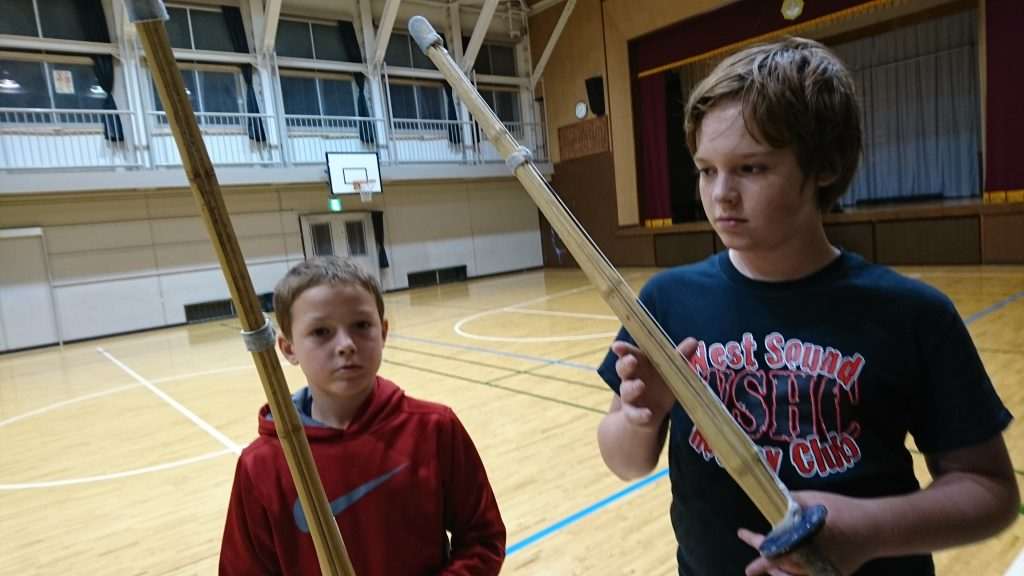 Checking out kendo - check out the video. This is one intense sport. A combination of hockey (with checking) and sword fighting!